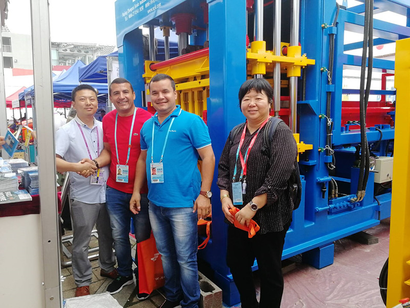 4th day in ZCJK Booth: 9.C 16&17 - ZCJK Machine attending the Canton Fair