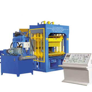 QTY12-15 Fully automatic block making machine line
