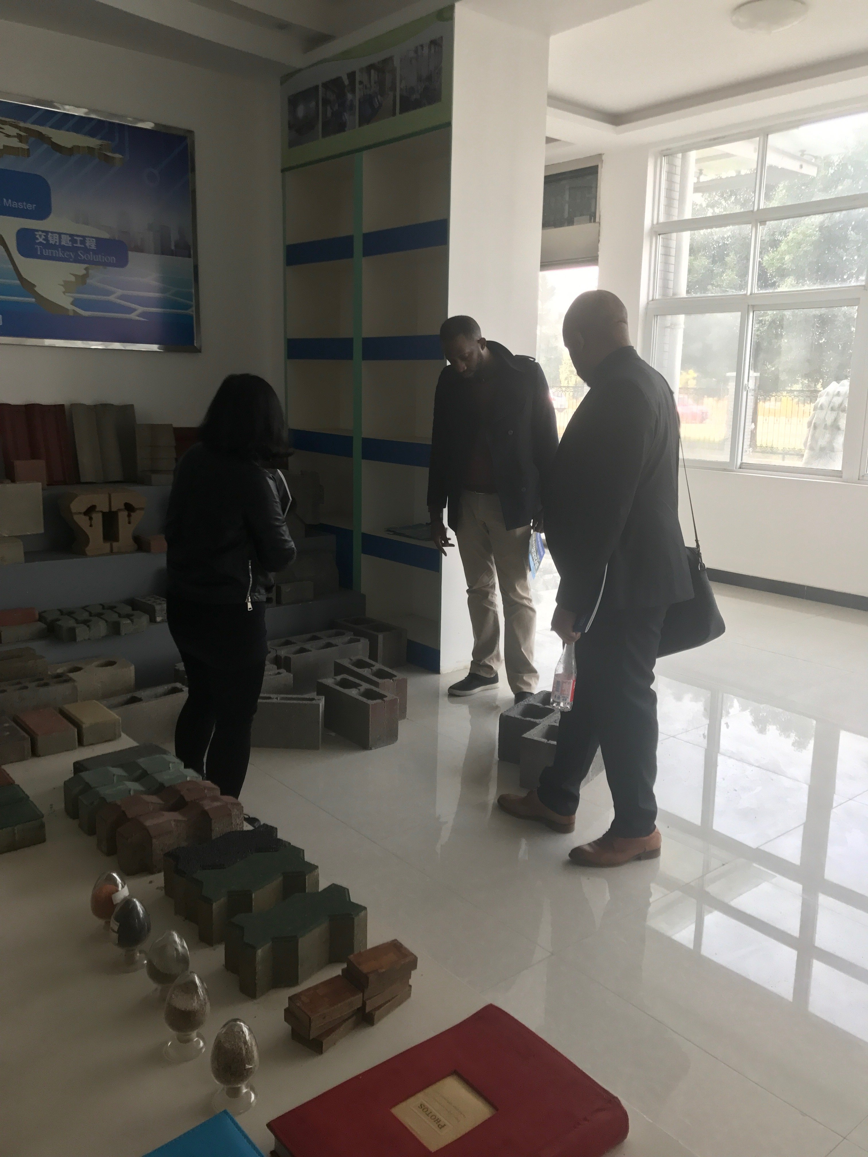 Welcome Our Customer From Cameroon To Visit ZCJK Wuhan Factory