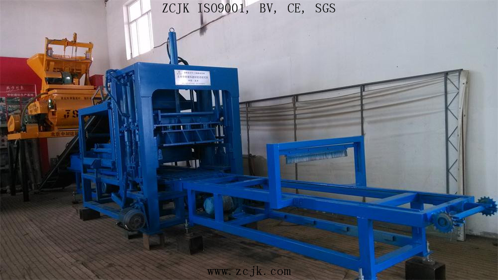 ZCJK QTY6-15 brick making machine
