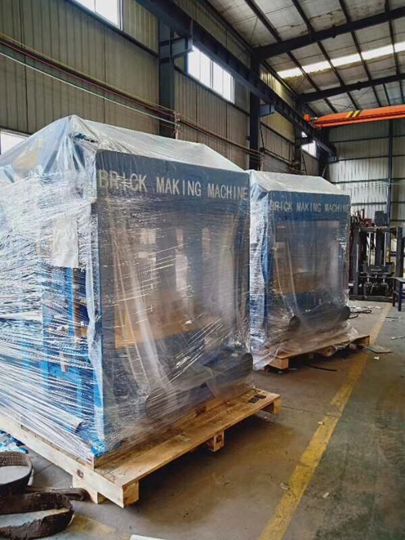 7 sets of QTY4-25 block machines are ready for deliver to kenya