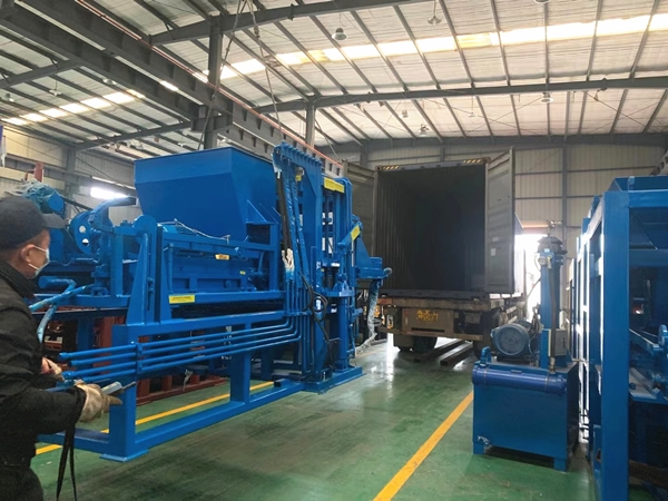 QTY4-20A block machine ship to Africa